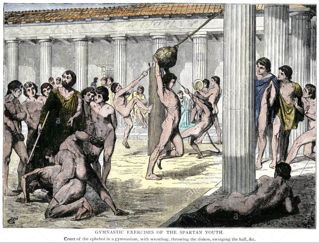 calisthenics grecia