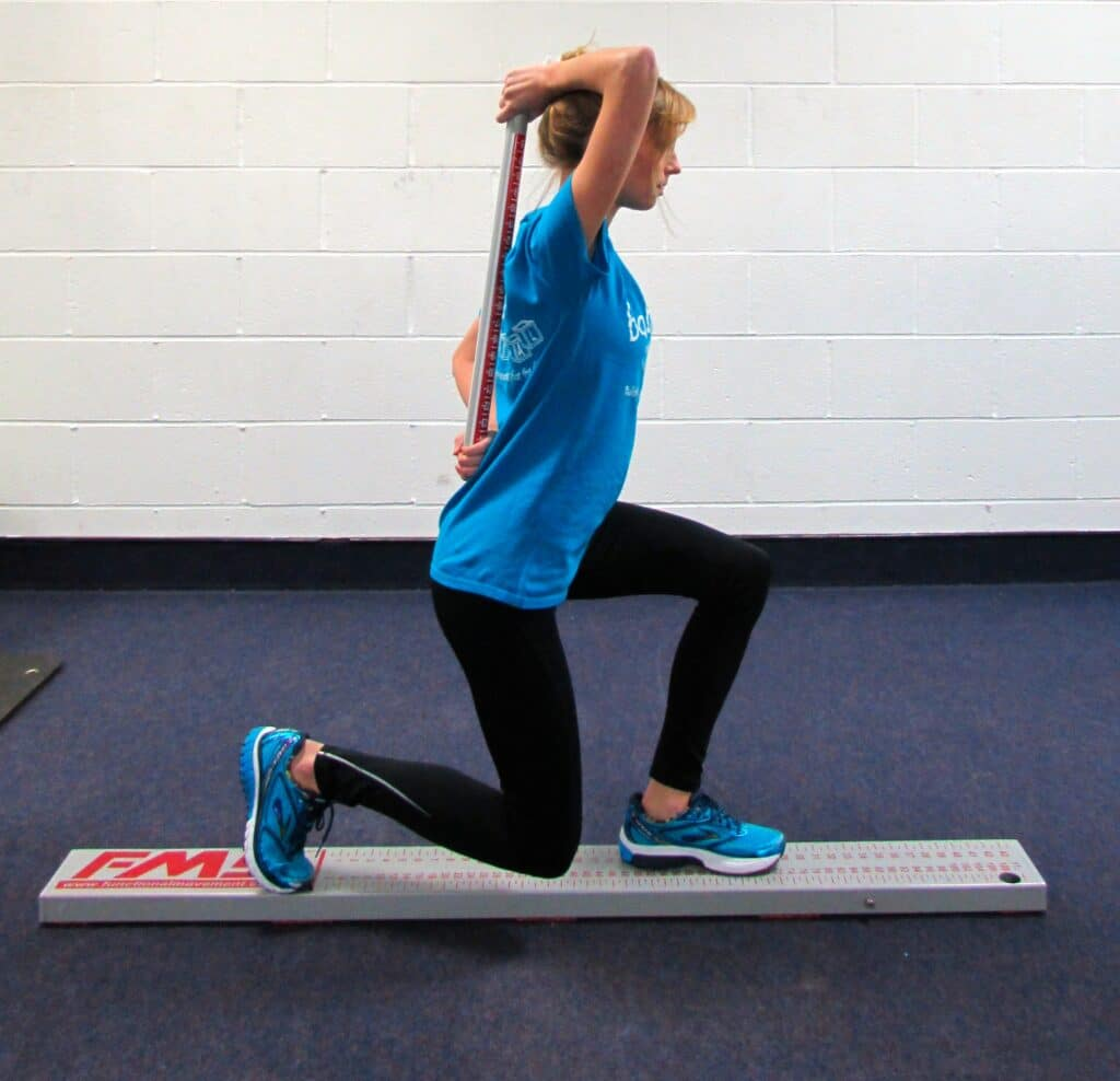 fms - in line lunge