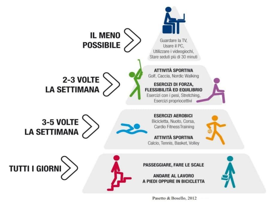 piramide attività  motoria